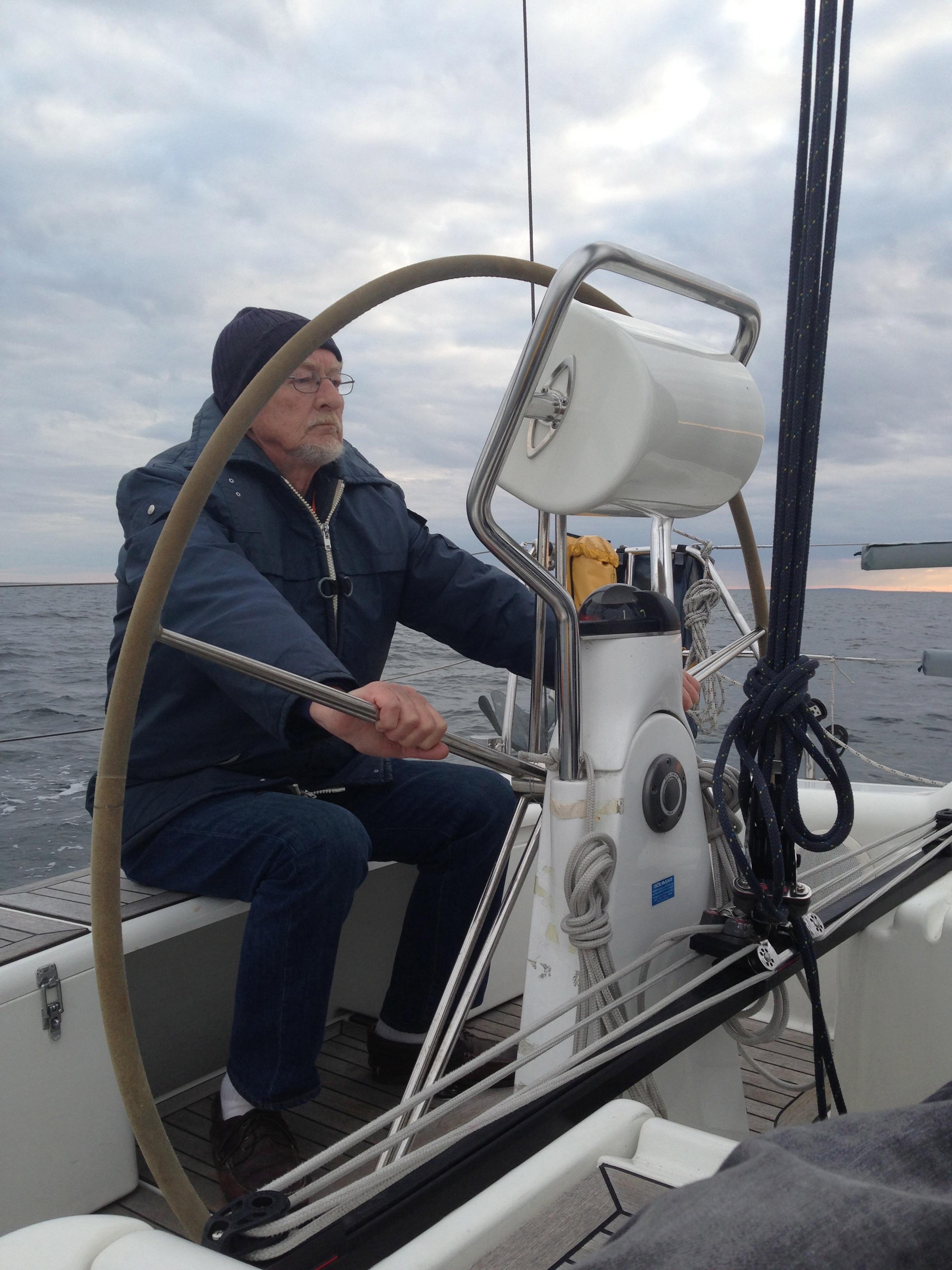 Kapten vid rodret