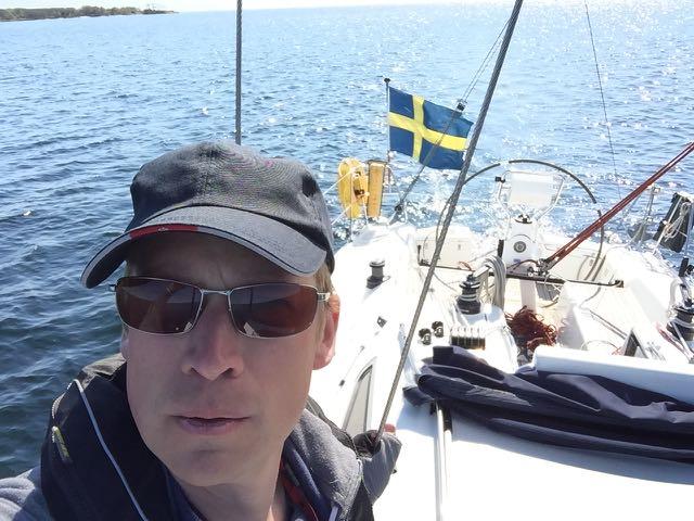 Premiär för solo-segling!