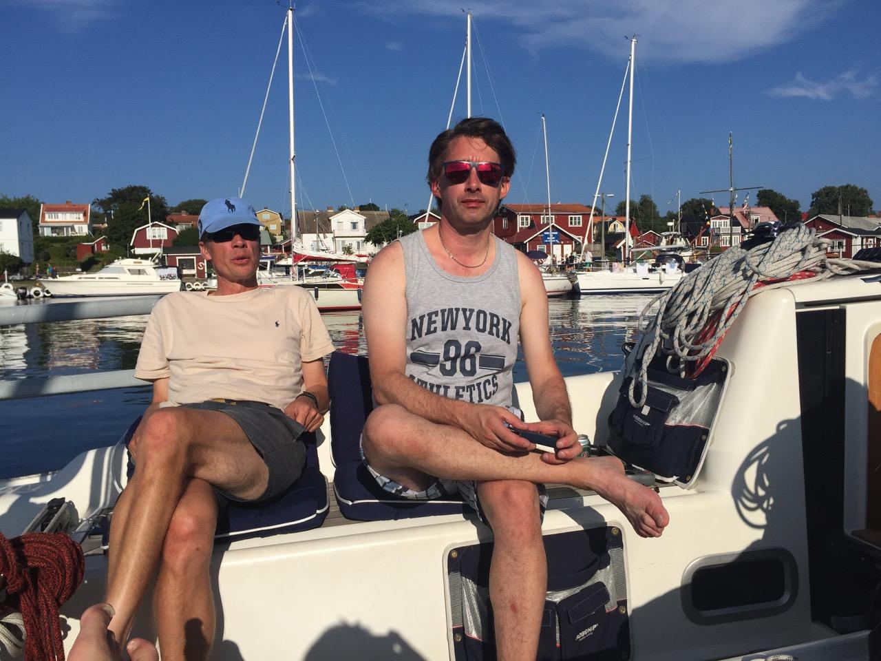 Magnus och Rickard, semesterläge