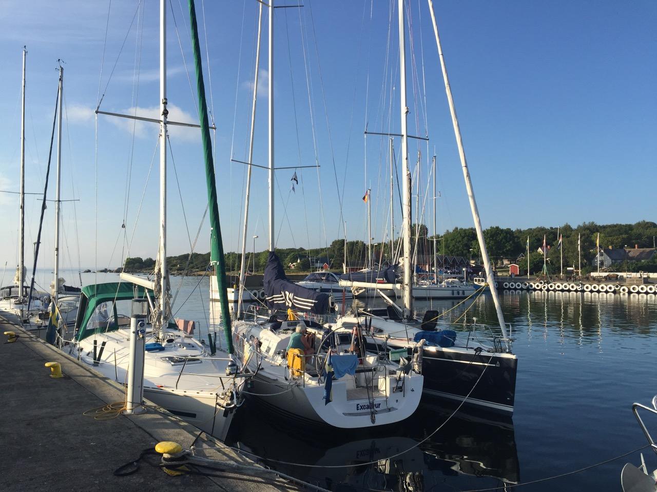 Tredje båt på Hanö