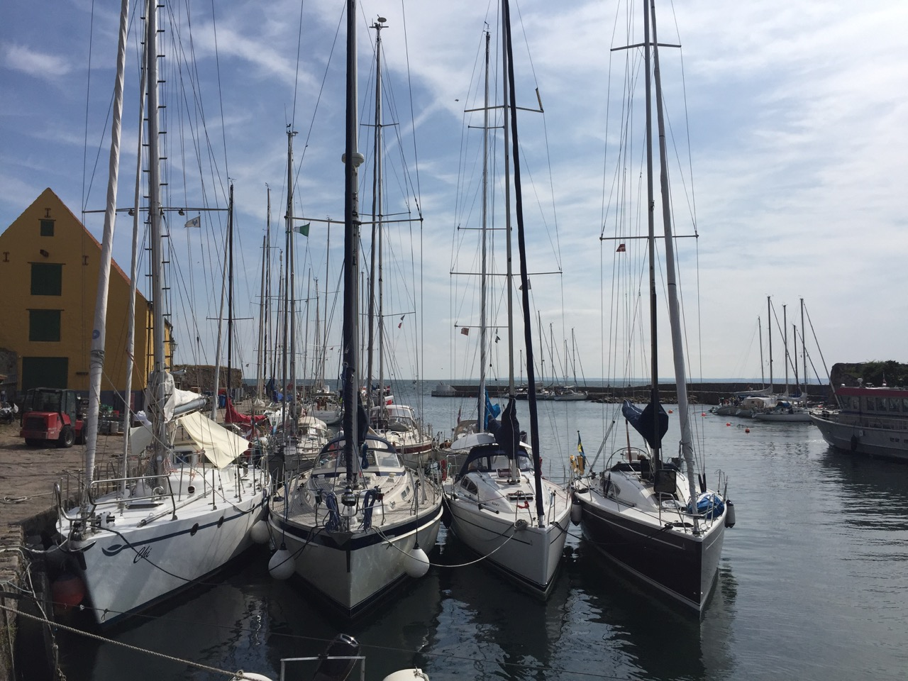 Fjärde båt på Kristians Ö